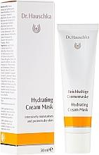 Düfte, Parfümerie und Kosmetik Feuchtigkeitsspendende Crememaske für das Gesicht - Dr. Hauschka Hydrating Cream Mask