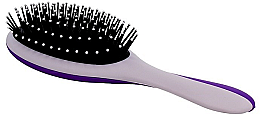 Düfte, Parfümerie und Kosmetik Haarbürste grau-lila - Twish Professional Hair Brush With Magnetic Mirror Grey-Indigo
