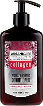 Düfte, Parfümerie und Kosmetik Rekonstruierender Conditioner mit Kollagen - Arganicare Collagen Reconstructuring Conditioner