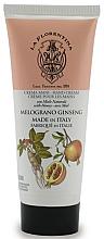 Düfte, Parfümerie und Kosmetik Feuchtigkeitsspendende Handcreme mit Honig, Granatapfel und Ginseng - La Florentina Pomegranate & Ginseng Hand Cream