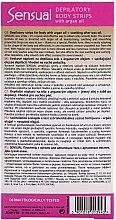 Enthaarungswachsstreifen mit Arganöl - Joanna Sensual Dipilatory Body Strips — Bild N2