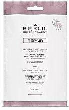 Düfte, Parfümerie und Kosmetik Regenerierende Haarmaske mit Bach-Blüten und Sheabutter - Brelil Bio Treatment Repair Mask Tissue