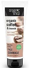 Düfte, Parfümerie und Kosmetik Gesichtspeeling mit Bio Kaffee- und Olivenöl - Organic Shop Gommage Face