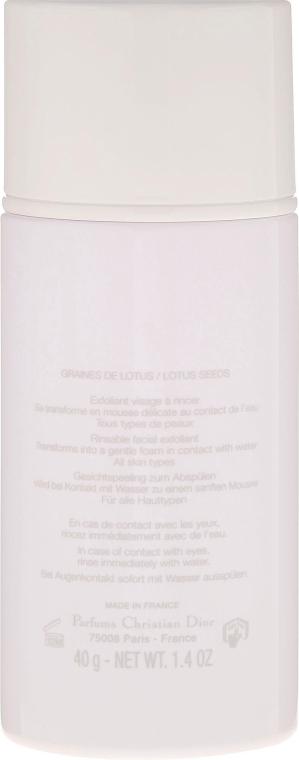 Glänzendes Peeling-Puder mit Zucker und Lotussamen - Dior Hydra Life Time To Glow Ultra Fine Exfoliating Powder — Bild N3