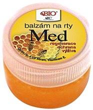 Düfte, Parfümerie und Kosmetik Lippenbalsam - Bione Cosmetics Honey + Q10 With Vitamin E and Bee Wax Lip Balm