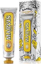 Düfte, Parfümerie und Kosmetik Erfrischende Zahnpasta mit Pfirsich, Ananas, Mango und Minze - Marvis Rambas Limited Edition Toothpaste