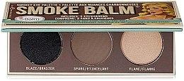 Düfte, Parfümerie und Kosmetik Lidschatten-Palette - TheBalm Smoke Balm Eyeshadow Palette