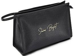 Düfte, Parfümerie und Kosmetik Kosmetiktasche schwarz - Avon Shine Bright