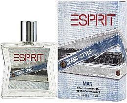 Düfte, Parfümerie und Kosmetik Esprit Jeans Style Man - After Shave
