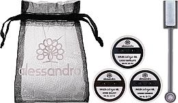 Düfte, Parfümerie und Kosmetik Nagelset - Alessandro International Cat Eye Set (Nagellack-Gel 5ml + Nagellack-Gel 5ml + Nagellack-Gel 5ml + Magnet + Kosmetiktasche)