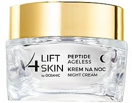 Intensiv glättende Nachtcreme für das Gesicht mit aktiven Peptiden und Ceramide-Komplex - Lift4Skin Peptide Ageless Night Cream — Bild N2