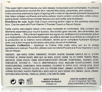 Klärendes Feuchtigkeitsgel für ölige und unreine Haut - Dr Sebagh Vital Cream — Bild N2