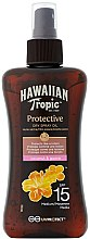 Düfte, Parfümerie und Kosmetik Trockenes Sonnenschutzspray-Öl für den Körper SPF 15 - Hawaiian Tropic Protective Dry Spray Sun Oil SPF 15