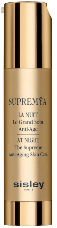 Anti-Aging Gesichtscreme für die Nacht - Sisley Supremya At Night The Supreme Anti-Aging Skin Care — Bild N2