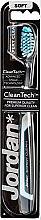 Düfte, Parfümerie und Kosmetik Zahnbürste weich Expert Clean schwarz-weiß - Jordan Tandenborstel Expert Clean Soft