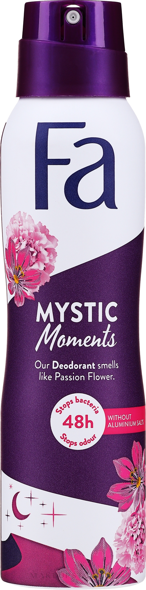 Deospray Mystic Moments - Fa Deodorant Mystic Moments Seductive Fragrance — Bild 150 ml