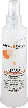 Haarspray mit Keratin und Aminosäuren - Renee Blanche Haute Coiffure Kerafix Keratina & Amminoacidi Spray — Bild N1