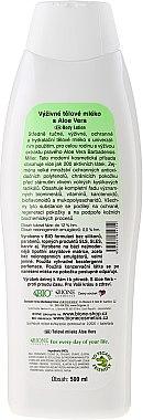 Feuchtigkeitsspendende Körperlotion mit Collagen - Bione Cosmetics Aloe Vera Nourishing Body Lotion With Collagen — Bild N2