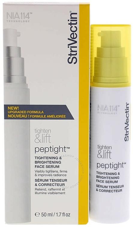 Straffendes und aufhellendes Gesichtsserum - StriVectin Tighten & Lift Peptight Tightening & Brightening Face Serum — Bild N1