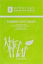 Düfte, Parfümerie und Kosmetik Tuchmaske für Gesicht mit Fülleffekt & Bambusextrakt - Erborian Bamboo Shot Mask