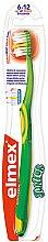 Düfte, Parfümerie und Kosmetik Kinderzahnbürste 6-12 Jahre weich grün-gelb - Elmex Junior Toothbrush