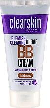 Düfte, Parfümerie und Kosmetik Getönte BB Gesichtscreme für empfindliche Haut - Avon Clearskin Blemish Clearing