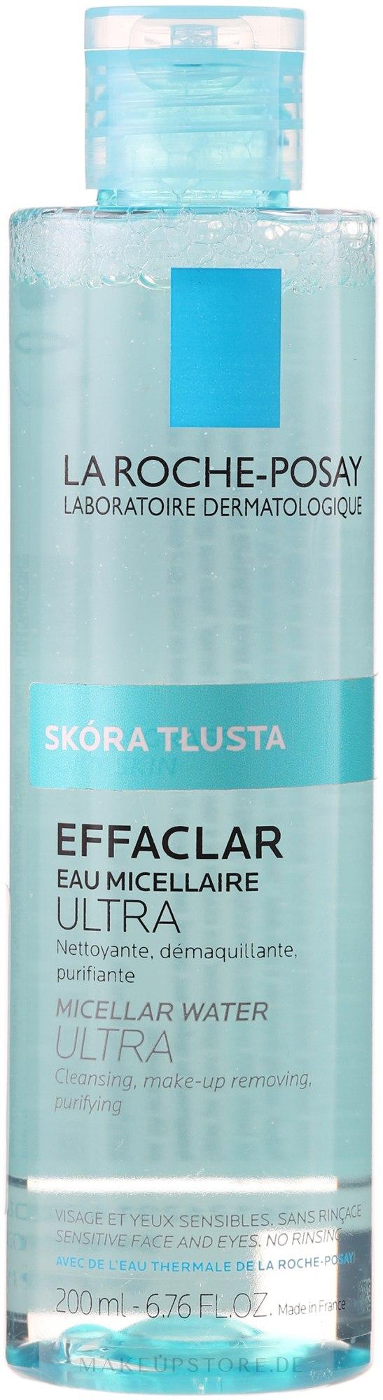 Make-up Reinigungslotion - La Roche-Posay Effaclar Make-Up Removing Purifying Water — Bild 400 ml
