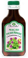 Düfte, Parfümerie und Kosmetik Klettenöl für das Haar mit Vitaminen A und E - Mirrolla