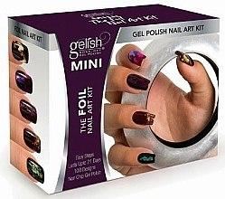 Düfte, Parfümerie und Kosmetik Set - Gelish Mini The Foil Nail Art Kit