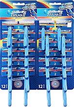 Düfte, Parfümerie und Kosmetik Einwegrasierer 24 St. - Gillette Blue II Plus