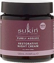 Anti-Falten Nachtcreme - Sukin Purely Ageless Night Cream — Bild N2