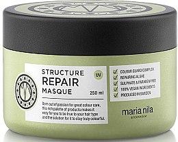 Düfte, Parfümerie und Kosmetik Regenerierende Haarmaske mit Algen-Extrakt - Maria Nila Structure Repair Masque