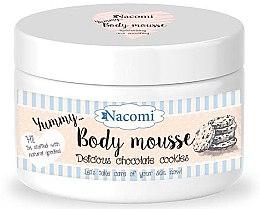 Düfte, Parfümerie und Kosmetik Körpermousse Schokokeks mit Traubenkernöl und Kakaoextrakt - Nacomi Body Mousse