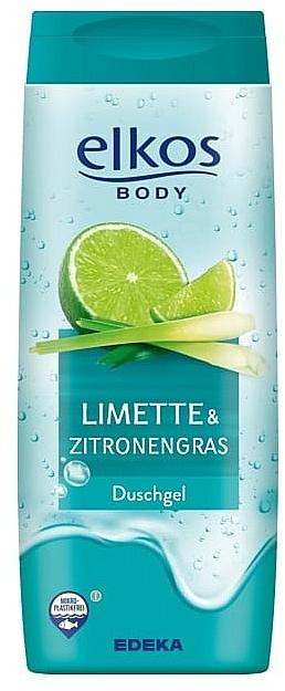 Duschgel Limette & Zitronengras - Elkos Lime & Lemongrass Shower Gel — Bild N1