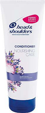 Pflegender Conditioner für Haar und Kopfhaut mit Lavendel-Essenz - Head & Shoulders Conditioner Nourishing Care — Bild N1