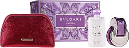 Düfte, Parfümerie und Kosmetik Bvlgari Omnia Crystalline - Duftset (Eau de Toilette 65ml + Körperlotion 2x75ml + Kosmetiktasche)