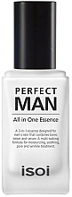 Düfte, Parfümerie und Kosmetik 3in1 Gesichtsessenz für Männer - Isoi Perfect Man All in One Essence