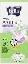 Düfte, Parfümerie und Kosmetik Slipeinlagen Panty Aroma Relax 20 St. - Bella