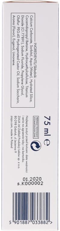 Anti-Karies Zahnpasta für Kinder und Erwachsene - Ziaja Mintperfect Activ — Bild N3