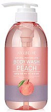 Düfte, Parfümerie und Kosmetik Duschgel mit Pfirsichextrakt - Welcos Around Me Peach Body Wash
