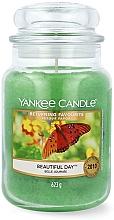 Düfte, Parfümerie und Kosmetik Duftkerze im Glas Beautiful Day - Yankee Candle Beautiful Day Scented Candle Large Jar