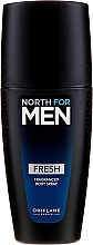 Düfte, Parfümerie und Kosmetik Parfümiertes Körperspray Fresh - Oriflame North for Men Fresh Fragranced Body Spray