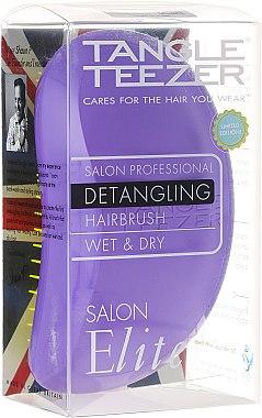 Entwirrbürste lila-gelb - Tangle Teezer Salon Elite Purple&Yellow — Bild N2