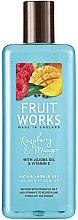 Düfte, Parfümerie und Kosmetik Bade- und Duschgel mit Himbeere und Mango - Grace Cole Fruit Works Raspberry & Mango