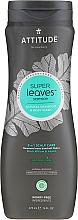 Düfte, Parfümerie und Kosmetik 2in1 Natürliches Shampoo und Duschgel - Attitude Super Leaves Natural Shampoo & Body Wash 2-in-1 Scalp Care
