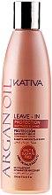 Düfte, Parfümerie und Kosmetik Revitalisierendes Haarkonzentrat mit Arganöl ohne Ausspülen - Kativa Argan Oil
