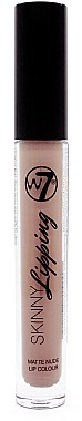 Flüssiger Lippenstift - W7 Skinny Lipping Matte Nude Lip Colour Lipstick — Bild N1
