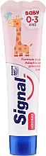 Düfte, Parfümerie und Kosmetik Kinderzahnpasta 0-3 Jahre mit Himbeergeschmack - Signal Signal Kids Strawberry Toothpaste