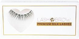 Düfte, Parfümerie und Kosmetik Künstliche Wimpern - Lash Brow Premium Silk Lashes Natural Mess