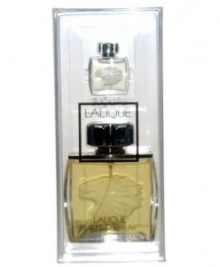 Lalique Lalique Pour Homme - Duftset (Eau de Parfum/75ml + Mini/4,5ml) — Bild N1